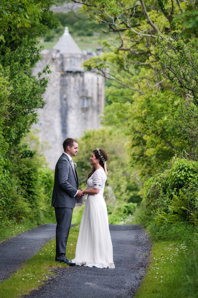 Irish wedding castle elope