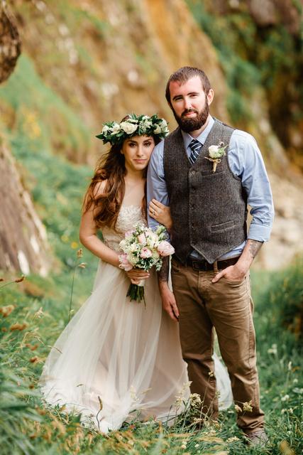 bohemian wedding style