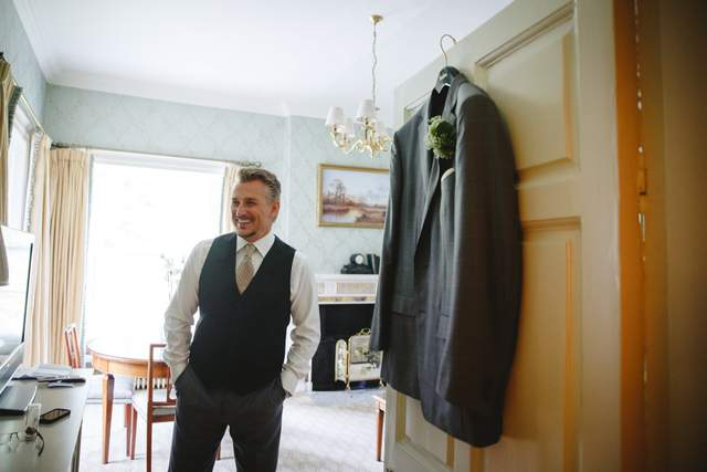 grey groom suit Ireland