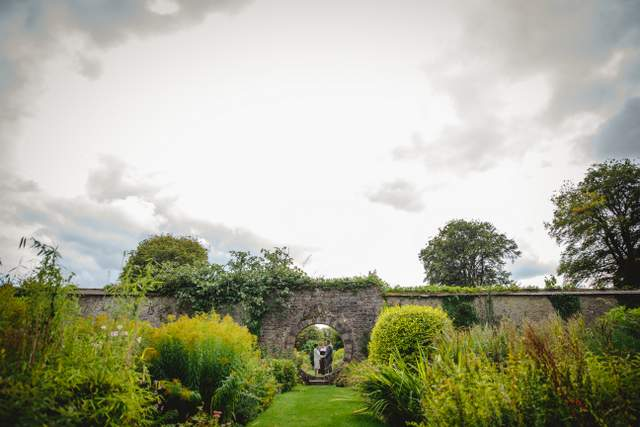 private elope Ireland garden wedding