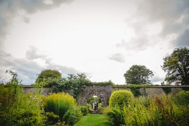 private elope Ireland garden wedding