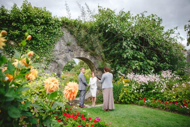 garden wedding Ireland
