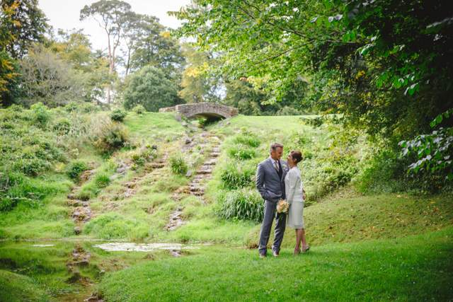 authentic Ireland manor house wedding