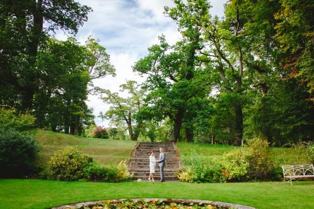 Irish garden elopement