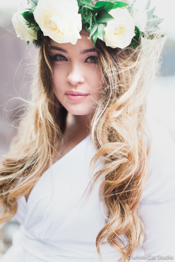 floral wedding head wreath boho wedding floral crown