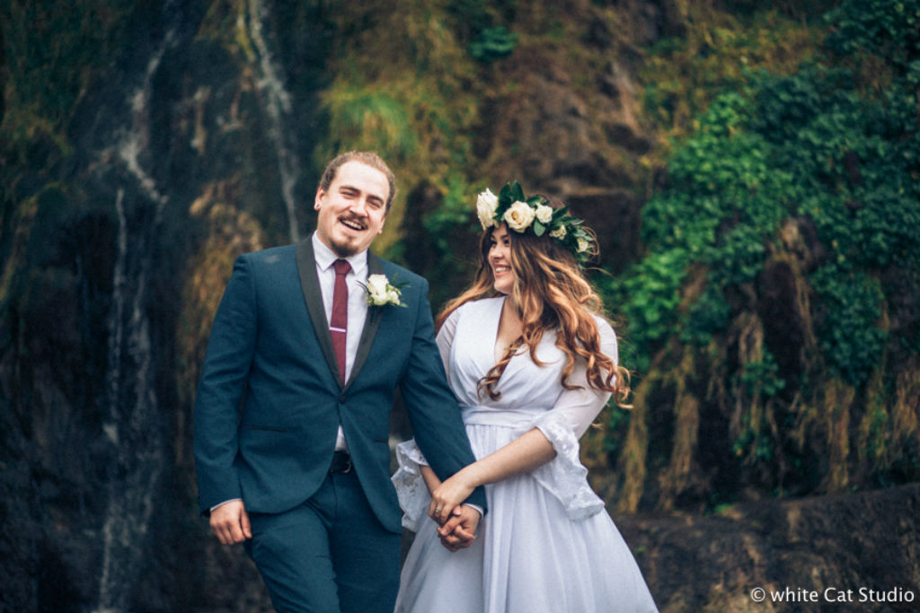 a winter elopement