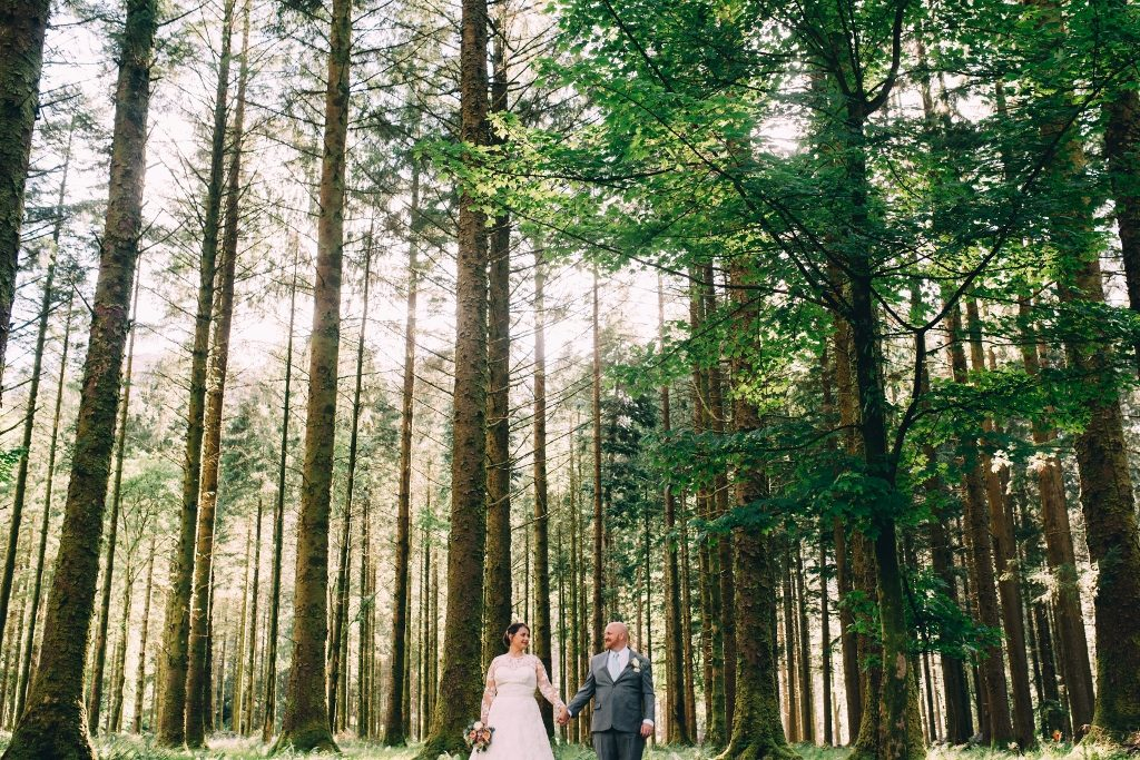 elopement at Gougane barra Church Ireland