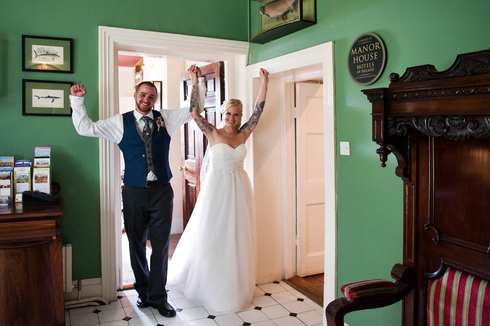 Civil ceremony elopement Ireland