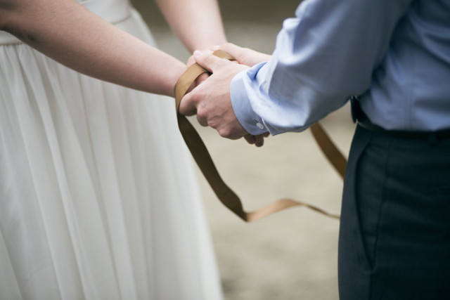Irish handfasting ceremony Elopement to Ireland