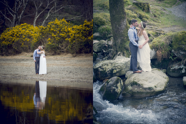 lakeside elopement Ireland elope to Ireland