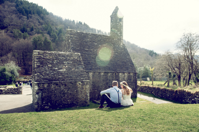 Glendalough Wicklow Ireland elopement