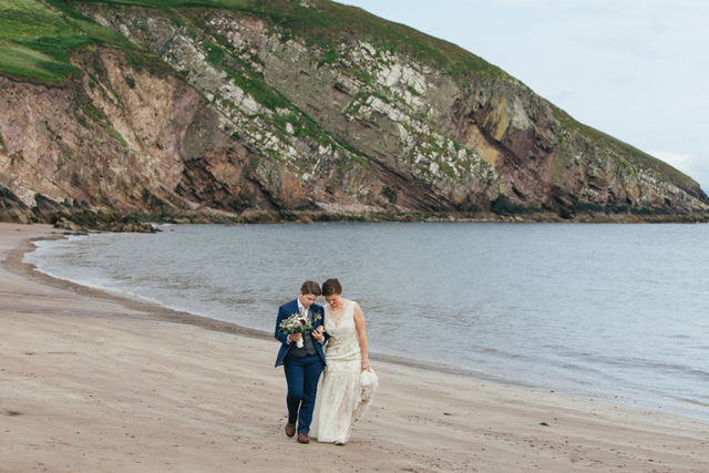 Irish seaside wedding Elope to Ireland