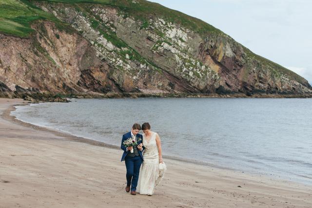 Irish seaside wedding Elope to Ireland