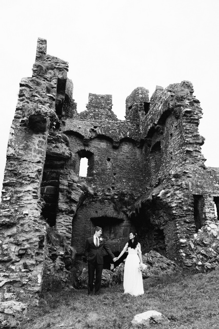 Irish castle elopement