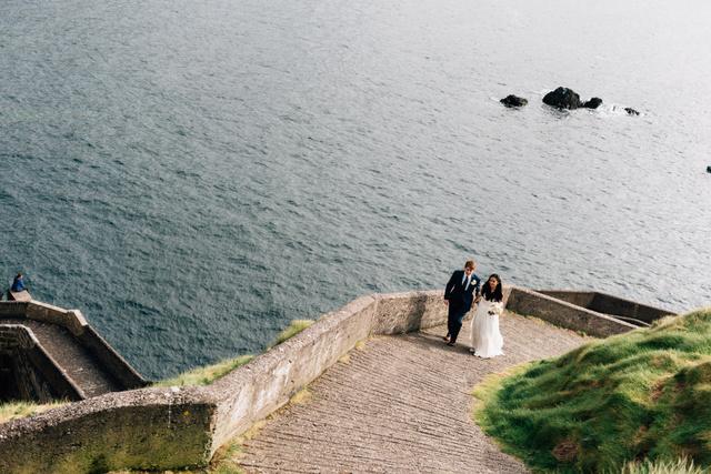 Ireland seaside elopement Elope to Ireland
