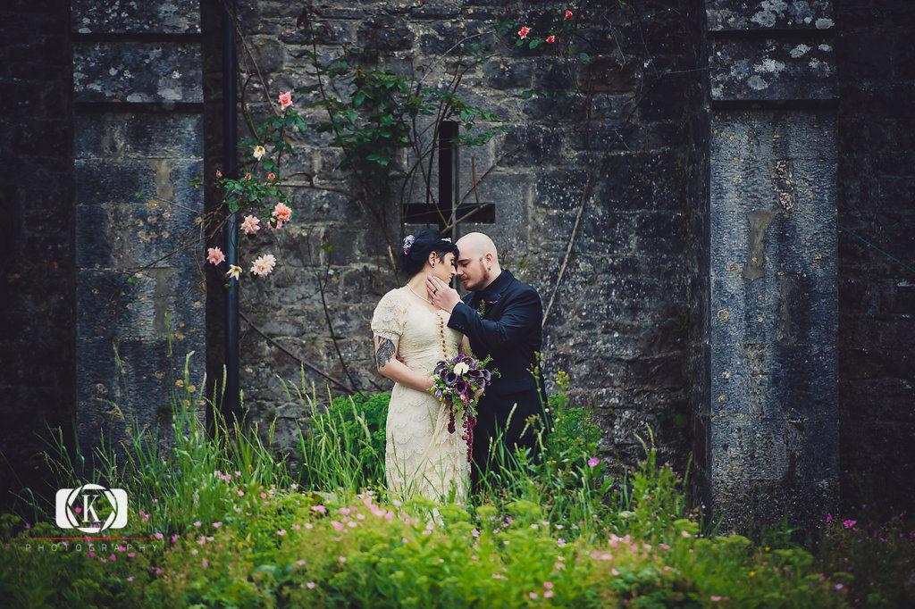 Irish castle wedding Gothic Castle elopement Elope to Ireland Elope in Ireland Elope Ireland