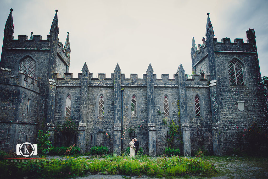 Irish Castle Wedding Gothic Elopement Elope To Ireland In