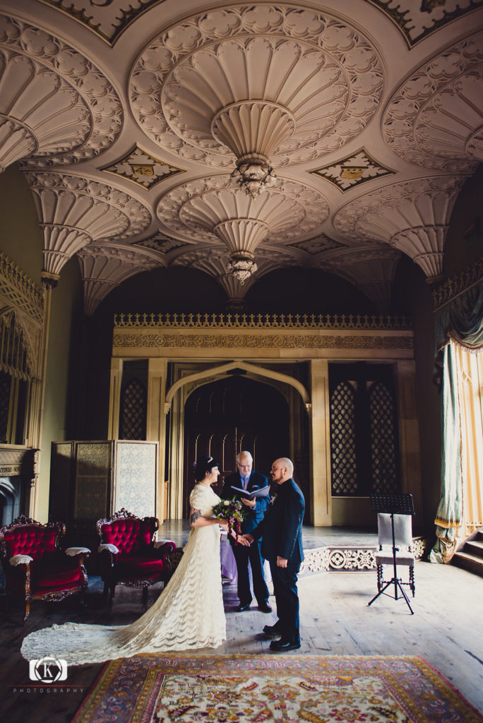 Real Castle wedding Gothic Victorian elopement Elope to Ireland Elope in Ireland Elope Ireland