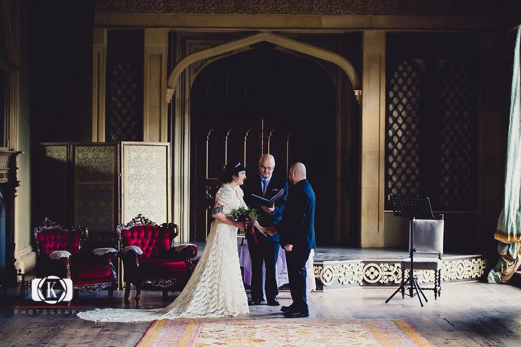 Elope to Ireland Irish elopement Castle wedding