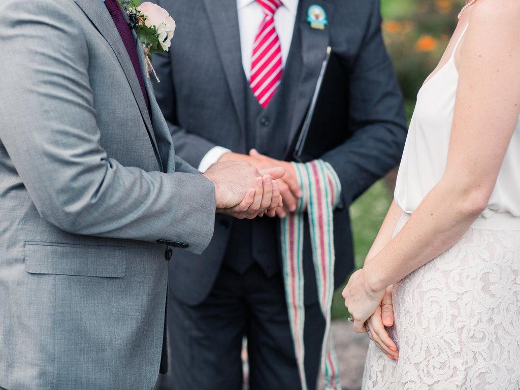 Irish celtic handfasting ceremony elope to Ireland