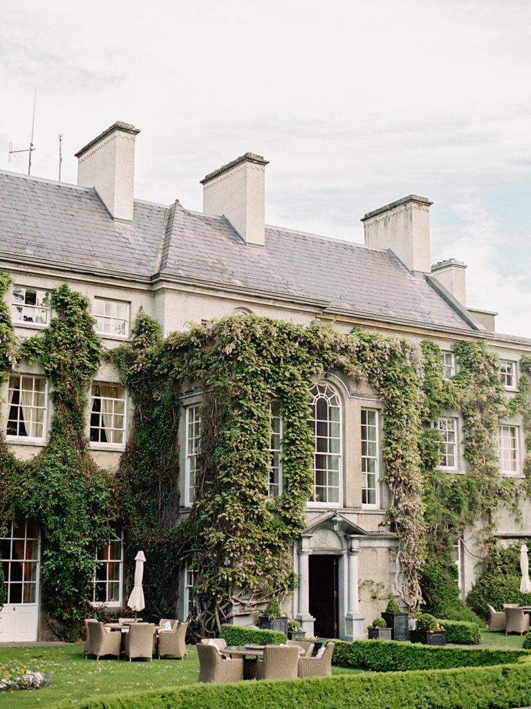 Ireland elope manor house garden wedding