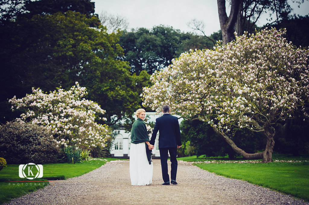 Beautiful Elopement at Fota House
