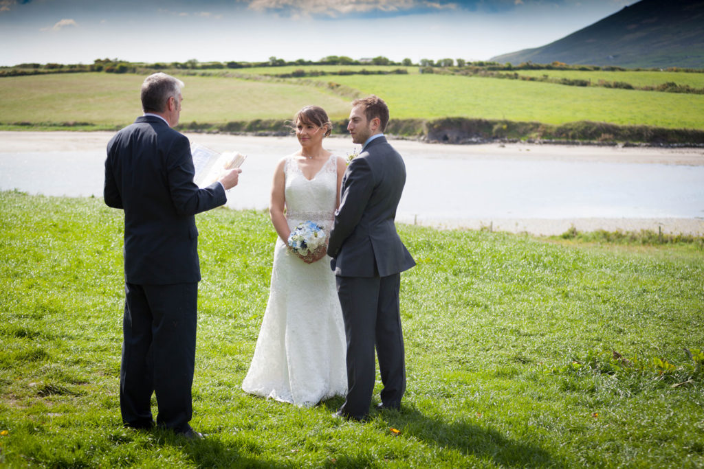 elope to ireland ceremony at the castle