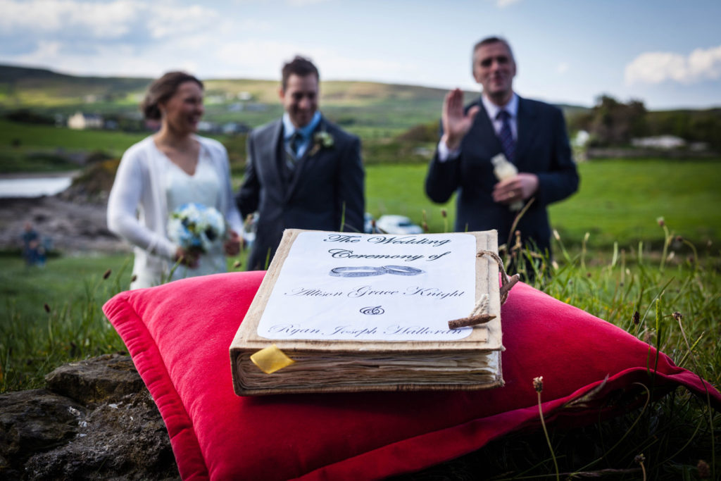 Ray the celebrant elope to ireland