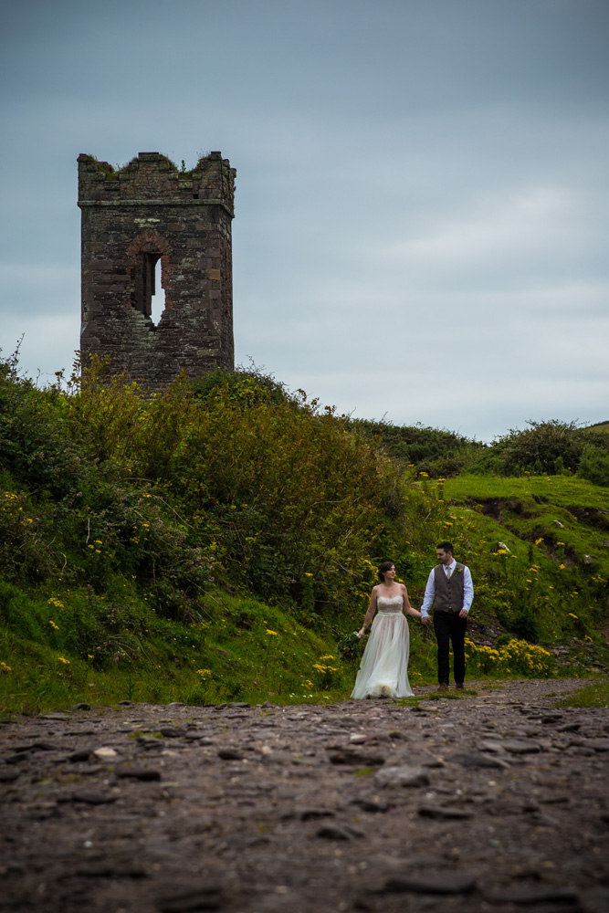 dingle castle elopement elope to ireland