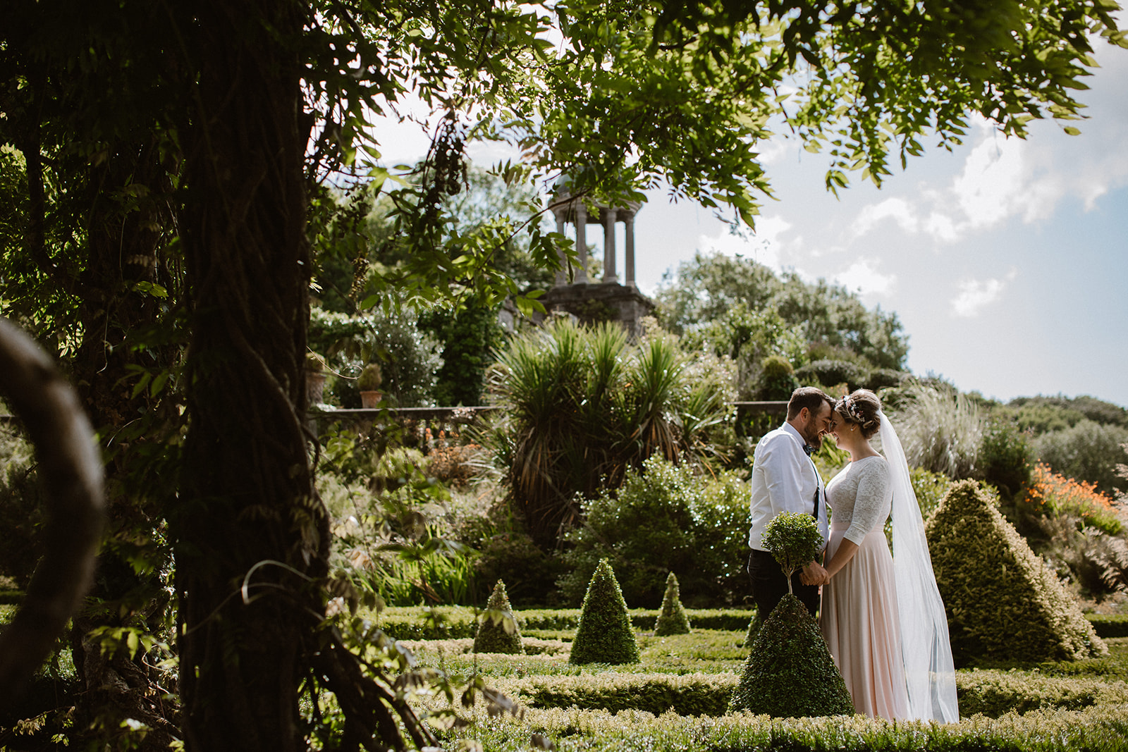 bantry house gardens wedding