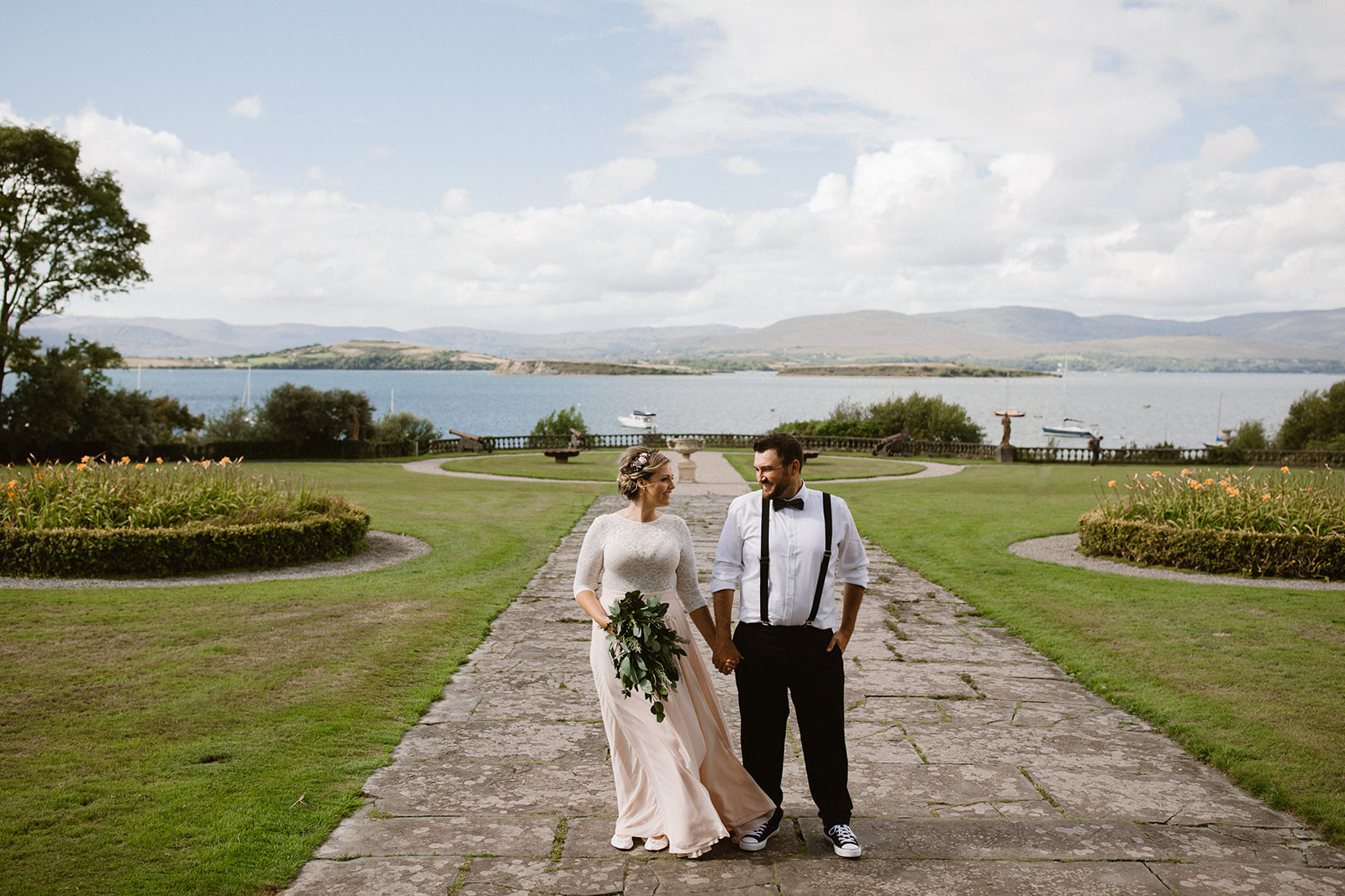 Celtic Ruins and Bantry House Elopement